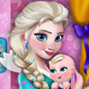 Elsa Mommy Room Deco  - Baby Room Decoration Games