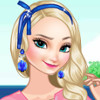 Frozen Sisters' Island Resort - Frozen Makeover Games