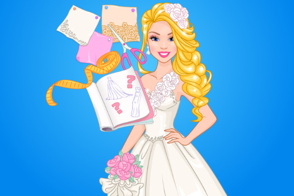 Barbie Wedding Dress Up Games , Barbie Wedding Dress Design |  RainbowDressup.com