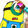 Minions Coloring Book  - Play Minions Games