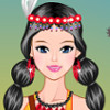 Native American Girl  - Girl Dress Up Games