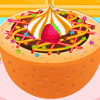 Delicious Fudge Puddles Cake  - Cake Cooking Games