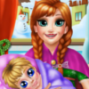 Frozen Anna Maternity Doctor - Frozen Skill Games