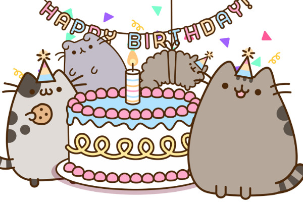 pusheen cat pusheen cat pinterest pusheen happy birthday and