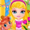 Baby Barbie Pets PJ Party  - Barbie Pet Games