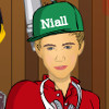 Niall Horan Dress Up - One Direction Games