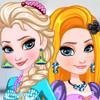 Elsa And Rapunzel Matching Outfits  - Frozen Elsa Dress Up Games