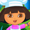 Dora Cooking Cake  - Cake Cooking Games