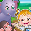 Baby Hazel Learns Animals - Baby Hazel Games For Kids