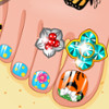 Summer Feet - Nail Art Games 2015
