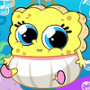 Spongebob And Patrick Babies  - Baby Care Games For Girls