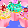 Yummy Colorful Cupcake - Cupcake Cooking Games