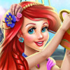 Ariel Baby Wash - Baby Bathing Games For Girls