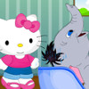 Jumbo At Hello Kitty Hair Salon  - New Hair Salon Games