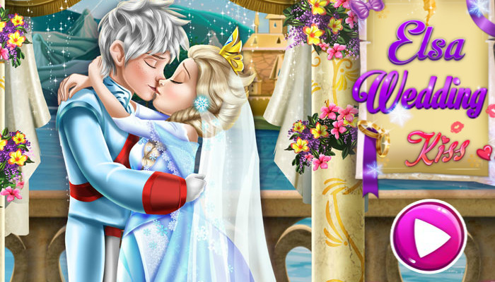 Anna and elsa wedding