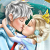 Elsa's Wedding Kiss  - Frozen Elsa Games Online