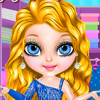 Baby Barbie Glittery Fashion  - Baby Barbie Dress Up Games