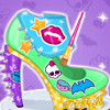 Monster High Shoe Design  - Shoe Design Games