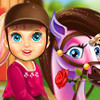 Baby Barbie Pony Caring  - Pet Care Games
