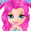 Baby Barbie Glittery Nails  - Nail Polish Games