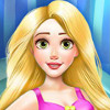 Pregnant Rapunzel At The Spa  - Princess Rapunzel Makeover Games