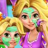 Rapunzel Mommy Real Makeover - Princess Rapunzel Games