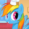 Rainbow Dash Cooking M&M Cake - Free Online Cake Cooking Games
