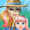 Barbie's Family Going Camping - Barbie Games For Girls