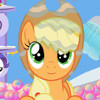 Apple Jack's Bubble Bath  - My Little Pony Games