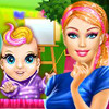 Barbie Superhero Mommy  - Barbie Superhero Games