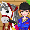 Girl With Horse Dress Up - Dress Up Games Online