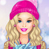 Barbie's Winter Glitter Trends  - Play Barbie Dress Up Games