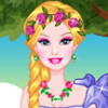 Barbie Flowery Girl - Barbie Dress Up Games Online