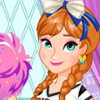 Anna's Cheerleading Tryouts - Frozen Anna Games For Girls