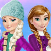 Elsa And Anna Winter Fun - Frozen Dress Up Games Online