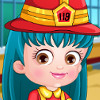 Baby Hazel Firefighter Dress Up - New Baby Hazel Games