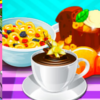 Cooking Milk Cereals And Pudding - Cooking Games For Girls