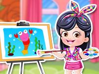 Baby Hazel  Artist Dressup - Baby Games