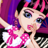 Monster Slumber Party Funny Faces - Monster High Games