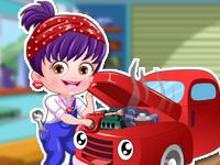 Baby Hazel Mechanic Dressup - Baby Hazel Dressup Games