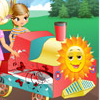 Magic Kids Train - Train Fun Games