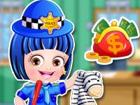 Baby Hazel Police Dressup - Police Makeover Dressup