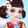 Ice Queen Time Travel - Fun Dressup Games