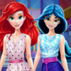 Ariel And Jasmine Mall Shopping - Ariel Jasmine Games