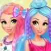 Modern Rapunzel Rainbow Trends - Rainbow Dressup Games
