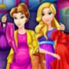 Pregnant Princess Mall Shopping - Pregnant Dressup Games