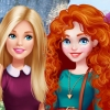 Barbie Visits Merida - Barbie Games