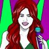 Miley Cyrus Coloring1 -