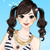 Riding Girl Dressup -