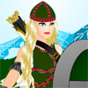 Warrior Queen Dressup -